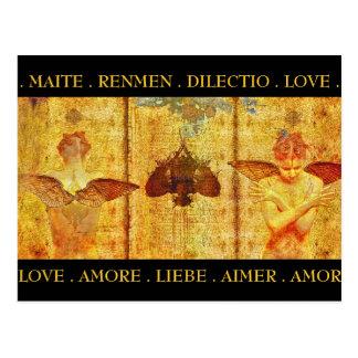 Amore Fresco Postcard