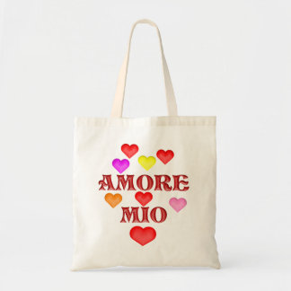 Amore million budget tote bag