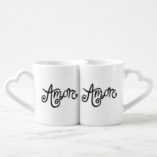 Amore Mio! Coffee Mug Set