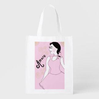 Amore Reusable Grocery Bag