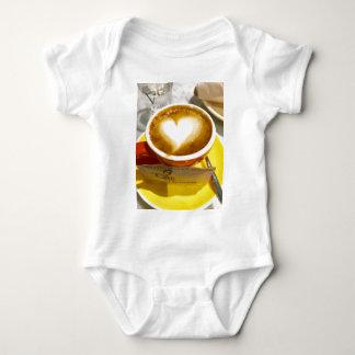 Amoreccino I heart Italian Coffee Baby Bodysuit
