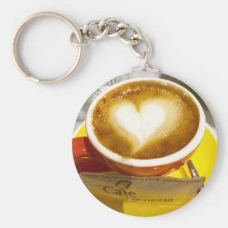 Amoreccino I heart Italian Coffee Key Ring