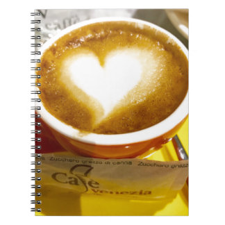 Amoreccino I heart Italian Coffee Notebook