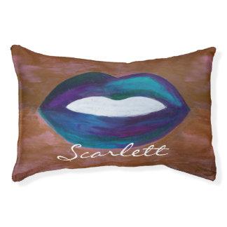 Amorous Pet | Name Kiss XOXO Lipstick Diva Lips Pet Bed