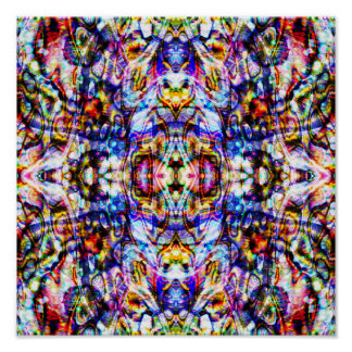 Amorphous Emergence (12 by 12) Art Print Poster
