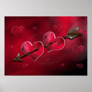 Amors arrow poster