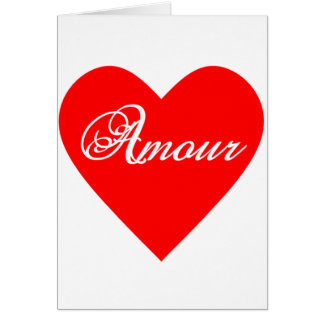 Amour Card