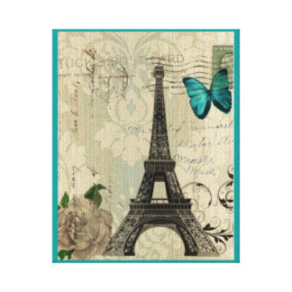 Amour De Paris Canvas Print