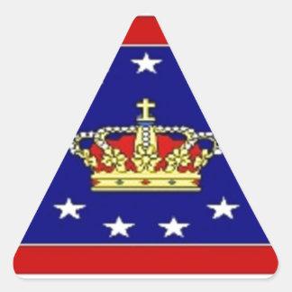 AMP Flag Triangle Sticker