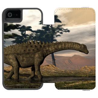 Ampelosaurus dinosaur incipio watson™ iPhone 5 wallet case