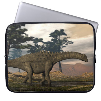 Ampelosaurus dinosaur laptop sleeve