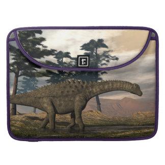 Ampelosaurus dinosaur sleeve for MacBooks