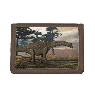 Ampelosaurus dinosaur trifold wallet