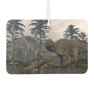 Ampelosaurus dinosaurs car air freshener