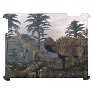 Ampelosaurus dinosaurs cover for the iPad 2 3 4