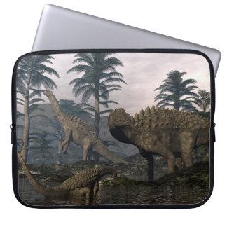 Ampelosaurus dinosaurs laptop sleeve