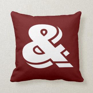 Ampersand Cushion