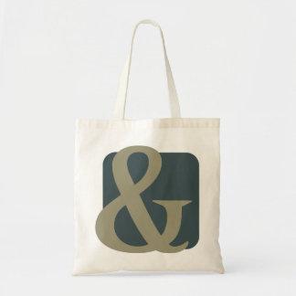 Ampersand design tote bag