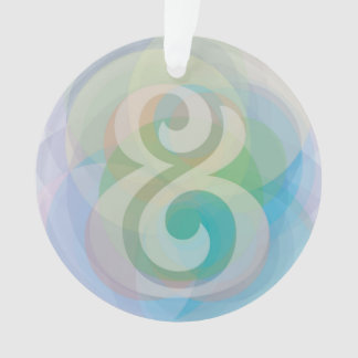 Ampersand Dreamy Etherial Pastel Bubbles Ornament
