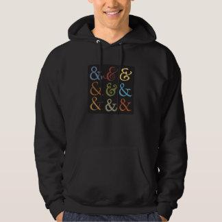 ampersand hoodie