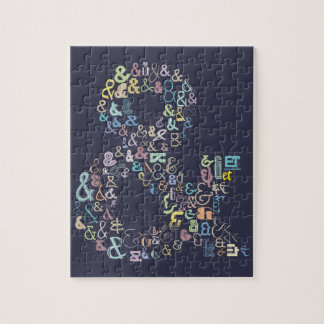 Ampersand pastels jigsaw puzzle