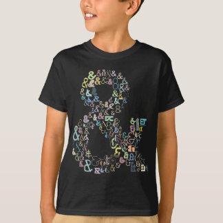 Ampersand pastels T-Shirt