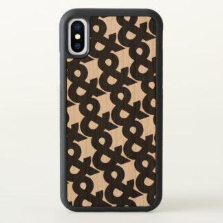 Ampersand Pattern iPhone X Case