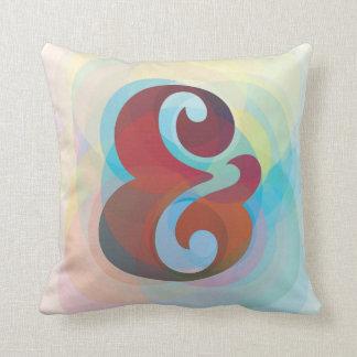 Ampersand Rainbow Pillow Home Decor
