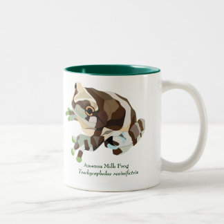 AmphibiaWeb Amazon Milk Frog Mug