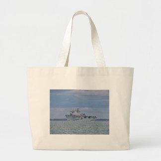 Amphibious Assault Ship Tote Bag
