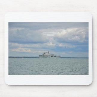 Amphibious Assault Ship Ocean Mouse Pad