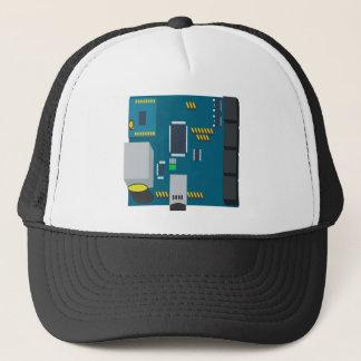 amphisbaena two platform dtn node vector trucker hat