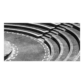 Amphitheater Custom Photo Card