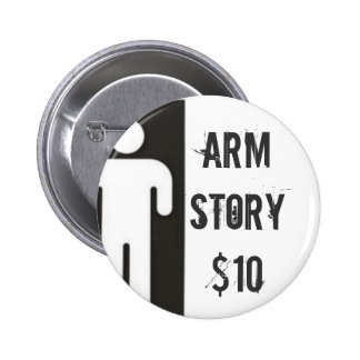 AMPMANlargedouble, Arm Story$10 6 Cm Round Badge