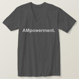 AMpowerment. V-neck T-Shirt