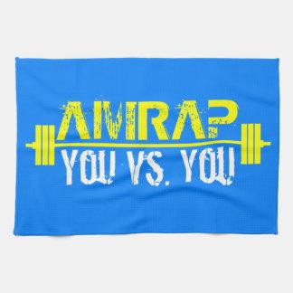 AMRAP - Heart Over Mind Kitchen Towels