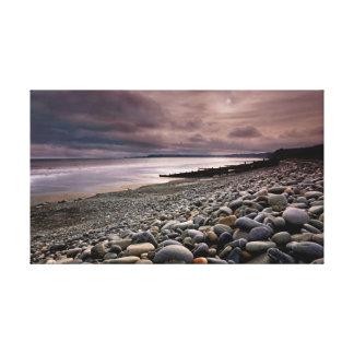 Amroth Beach Canvas Print