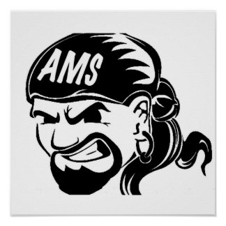 AMS Pirate Poster