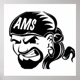 AMS Pirate Print