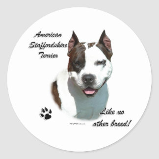 AmStaff Like No Other Breed - Sticker