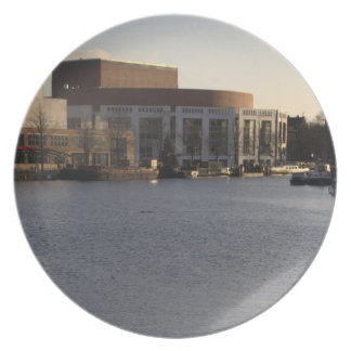 Amstel River and Amsterdam Music Hall Party Plate