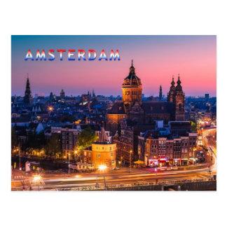 Amsterdam 003B Postcard