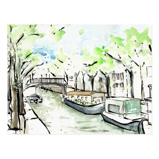 Amsterdam #2 postcard