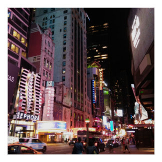 Amsterdam Avenue New York City 2017 Poster