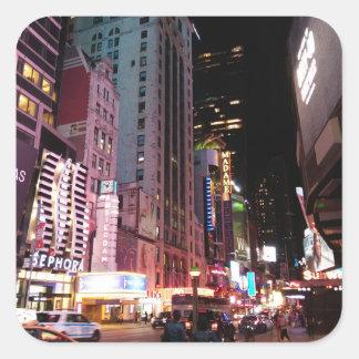 Amsterdam Avenue New York City 2017 Square Sticker