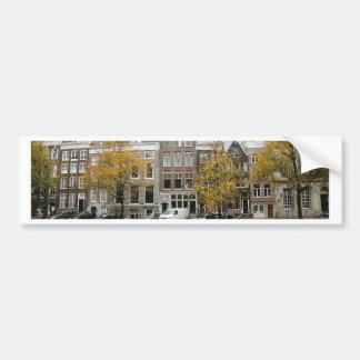Amsterdam Canal Bumper Sticker