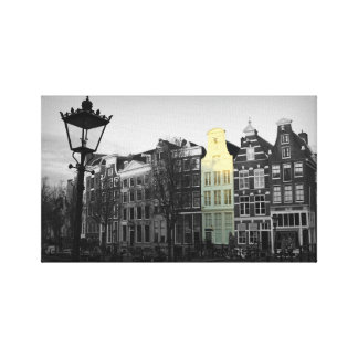 Amsterdam Canal - Keizersgracht - The Netherlands Canvas Print