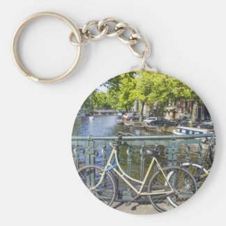 Amsterdam canal key ring