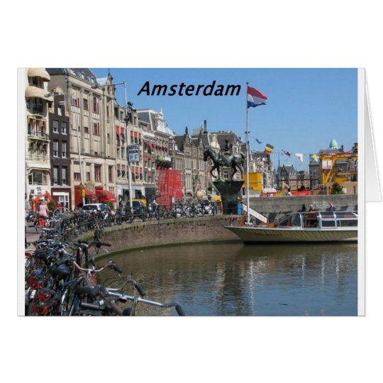 Amsterdam -City-[kan.k]. Card