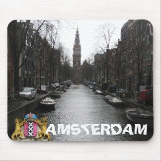 Amsterdam City View Zuiderkerk Mousepad